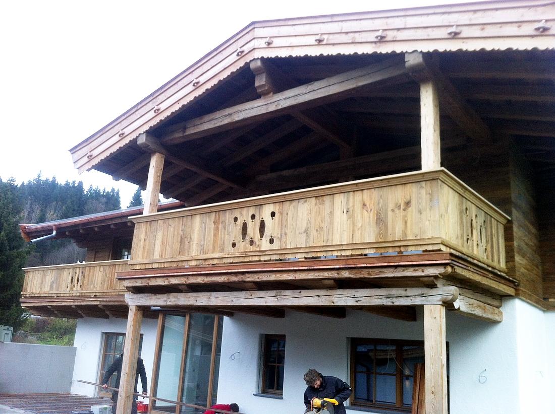 Balkone brüstungen   zimmerei jöchl